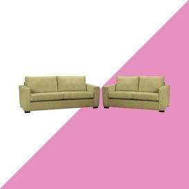 image-Ceja 2 Piece Sofa Set Hashtag Home Upholstery: Olive