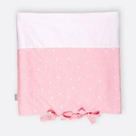 image-Rounded Triangles Changing Table Mat Cover KraftKids Colour: Pink/White