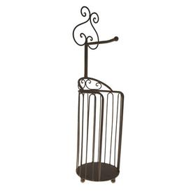 image-Eades Free Standing Toilet Roll Holder Brambly Cottage