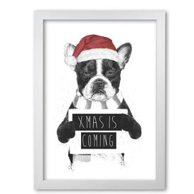 image-'Xmas is Coming' Graphic Art