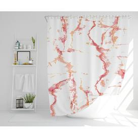 image-Lular Polyester Shower Curtain Set Canora Grey Size: 177cm H x 210cm W