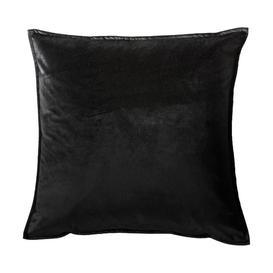 image-Gallery Direct Meto Velvet Oxford Black Cushion