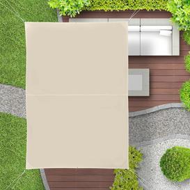 image-Gleeson 4m x 3m Rectangular Shade Sail Sol 72 Outdoor Colour: Beige