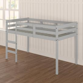 image-Abbie Single Mid Sleeper Bed Mack + Milo Colour (Bed Frame): Grey