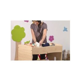 image-Baby Changing Unit, Maple, Free Standard Delivery