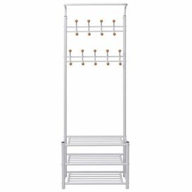 image-68cm Wide Clothes Rack Symple Stuff Finish: White