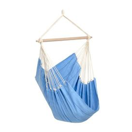 image-Omar Hanging Chair Freeport Park Colour: Blue
