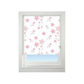 image-Universal 150cm Pink Twinkle Twinkle Blackout Roller Blind