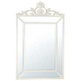 image-Rectangular Floor Standing Mirror Willa Arlo Interiors Finish: White