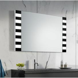 image-Stephan Bathroom Mirror Metro Lane Size: 65cm H x 120cm W x 3.2cm D