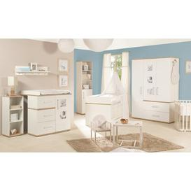 image-Pia Cot Bed 3-Piece Nursery Furniture Set roba Size (Changing Unit): Standard (H 102cm x W 94cm x D 78cm)