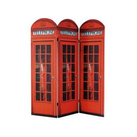 image-Red Telephone Box Room Divider