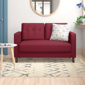 image-Cherilyn 2 Seater Loveseat Zipcode Design