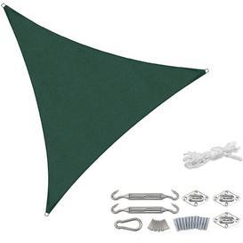 image-Drey 3m x 3m Triangular Shade Sail Sol 72 Outdoor Colour: Green