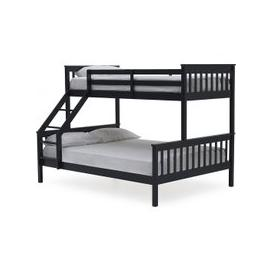 image-Castleford Wooden Triple Sleeper Bunk Bed In Blue