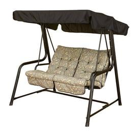 image-Fargo Swing Seat Sol 72 Outdoor Cushion Fabric: Country Teal
