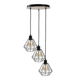 image-Hollifield 3-Light Geometric Pendant Williston Forge