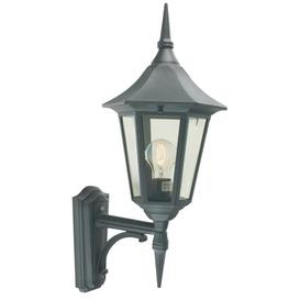 image-Aelia 1 Light Outdoor Wall Lantern Marlow Home Co. Finish: Black/Gold, Size: 79cm H x 32cm W x 47cm D