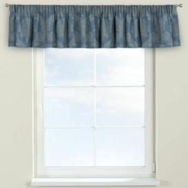 image-Damasco Curtain Pelmet Dekoria Size: 260cm W x 40cm L, Colour: Blue