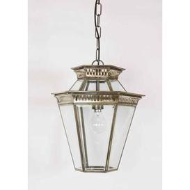 image-410 LA Bevelled Glass 1 Light Hanging Porch Lantern