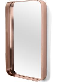 image-Alana Rectangular Mirror 50 x 80cm, Copper