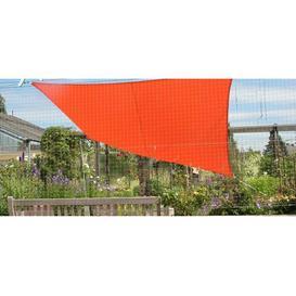 image-Norridgewock 3m x 2.5m Rectangular Shade Sail Sol 72 Outdoor Colour: Orange