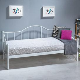 image-European Single Daybed Marlow Home Co. Colour: White