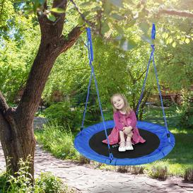 image-Maximillian Swing Seat Freeport Park Colour: Blue