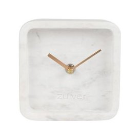 image-Zuiver Clock Luxury Time Marble White
