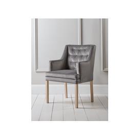 image-Lisbet Occasional Chair - Grey Velvet
