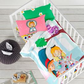 image-Woodruff Fitted Cot Sheet Isabelle & Max