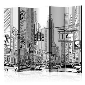 image-Minas Room Divider Ebern Designs Number of Panels: 5