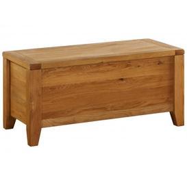 image-Vancouver Premium Oak Range Blanket Box