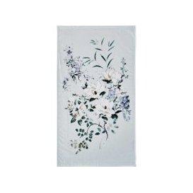 image-Sanderson Magnolia & Blossom Hand Towel, Duck Egg