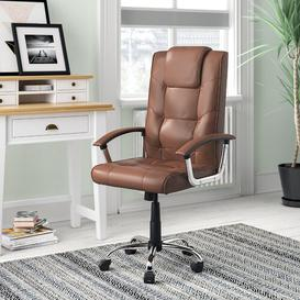 image-Managers Executive Chair Brayden Studio Colour: Brown