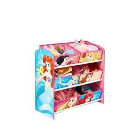 image-Disney Princess Kids Toy Storage Unit