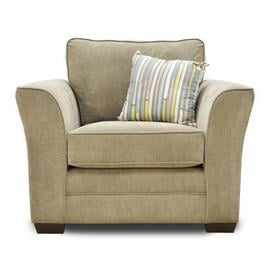 image-Belvidere Armchair Three Posts Upholstery Colour: Taupe