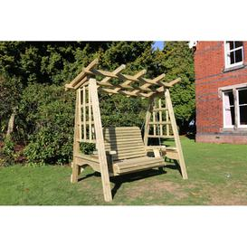 image-Churnet Valley Pergola 2 Seater Garden Swing