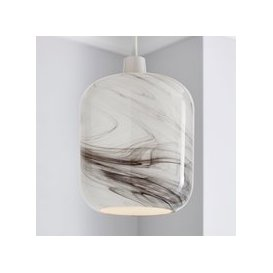 image-Kolla Marble Glass Easy Fit Pendant Marble