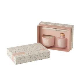 image-Scented Designer Candle Brayden Studio Colour: Pink