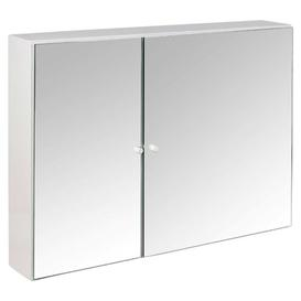 image-Melania 65cm x 47cm Mirrored Wall Mounted Cabinet Belfry Bathroom