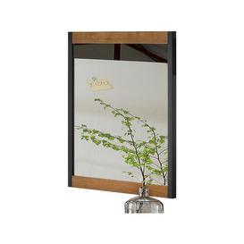 image-Hunter Bathroom Mirror Williston Forge Finish: Oak