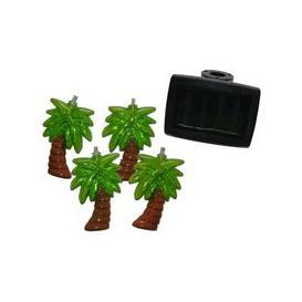 image-Bright Garden 10 Solar Palm Tree String Lights