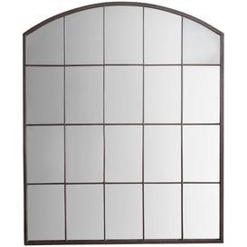 image-Manon Arched Mirror, 91 x 76cm, Metallic