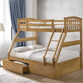 image-Ennis Single Bunk Bed with Drawers Just Kids