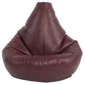image-Bean Bag Lounger Ebern Designs Upholstery Colour: Claret