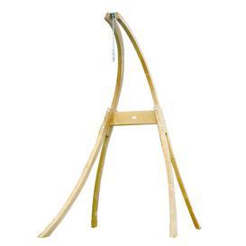 image-Vassallo Wooden Hanging Chair Stand Dakota Fields