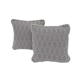 image-Home Pair of Scatter Cushions - Grey