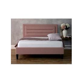 image-Limelight Beds Picasso Fabric Bedframe,Pink