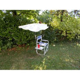 image-Warburton Folding Beach Chair Sol 72 Outdoor Parasol Colour: Natural